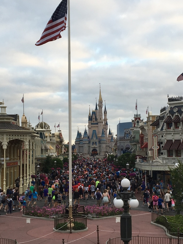 Cinderella's Castle, Disney World, Magic-Ally Main Street