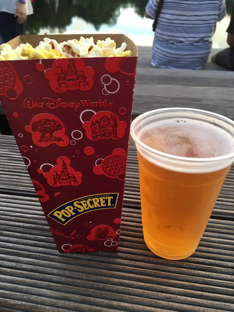 Disney World Popcorn and Beer