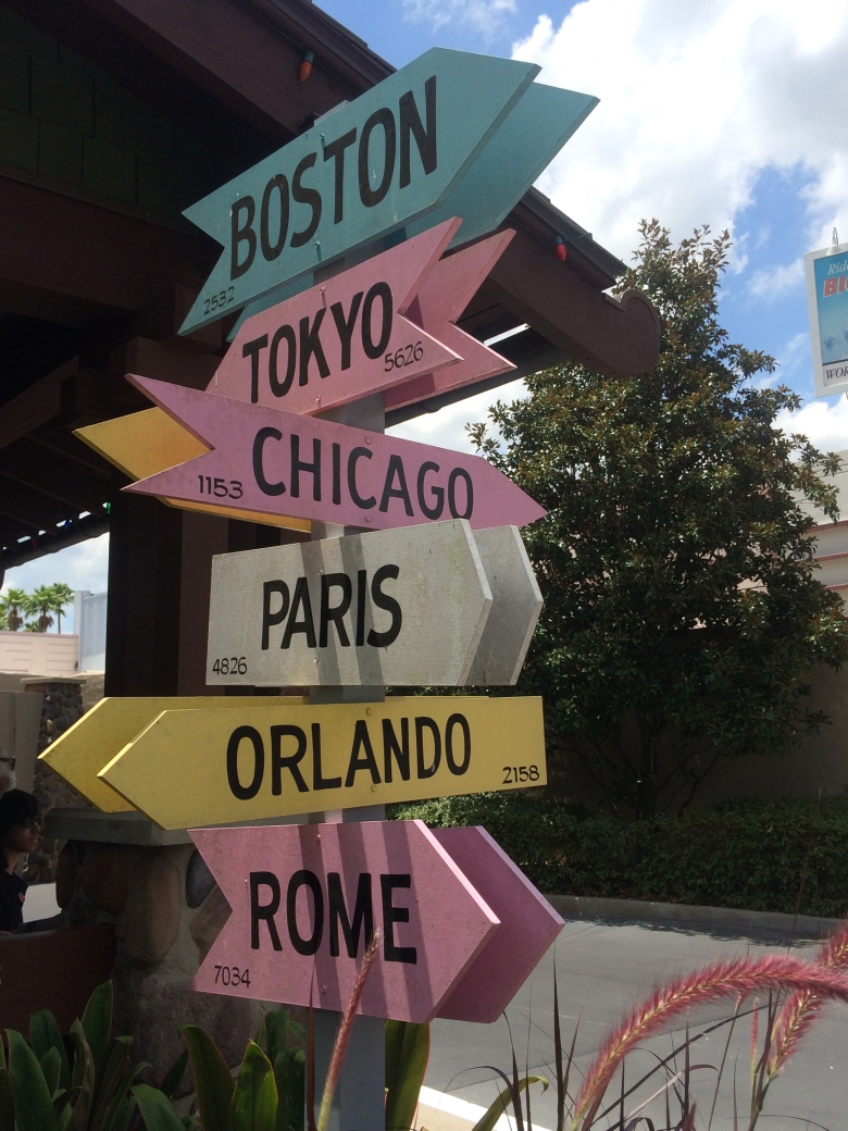 Disney World, Hollywood Studios, City Signs