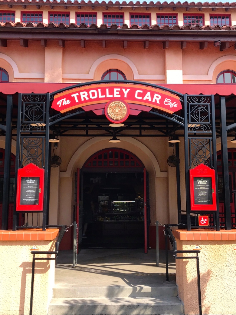 Hollywood Studios' The Trolley Car Cafe