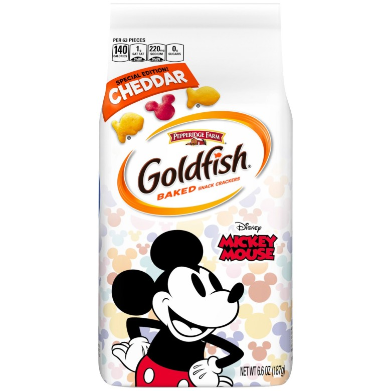 Mickey Goldfish Crackers