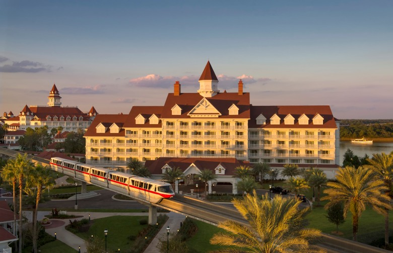 Walt Disney World, Grand Floridian Resort Villas, Monorail